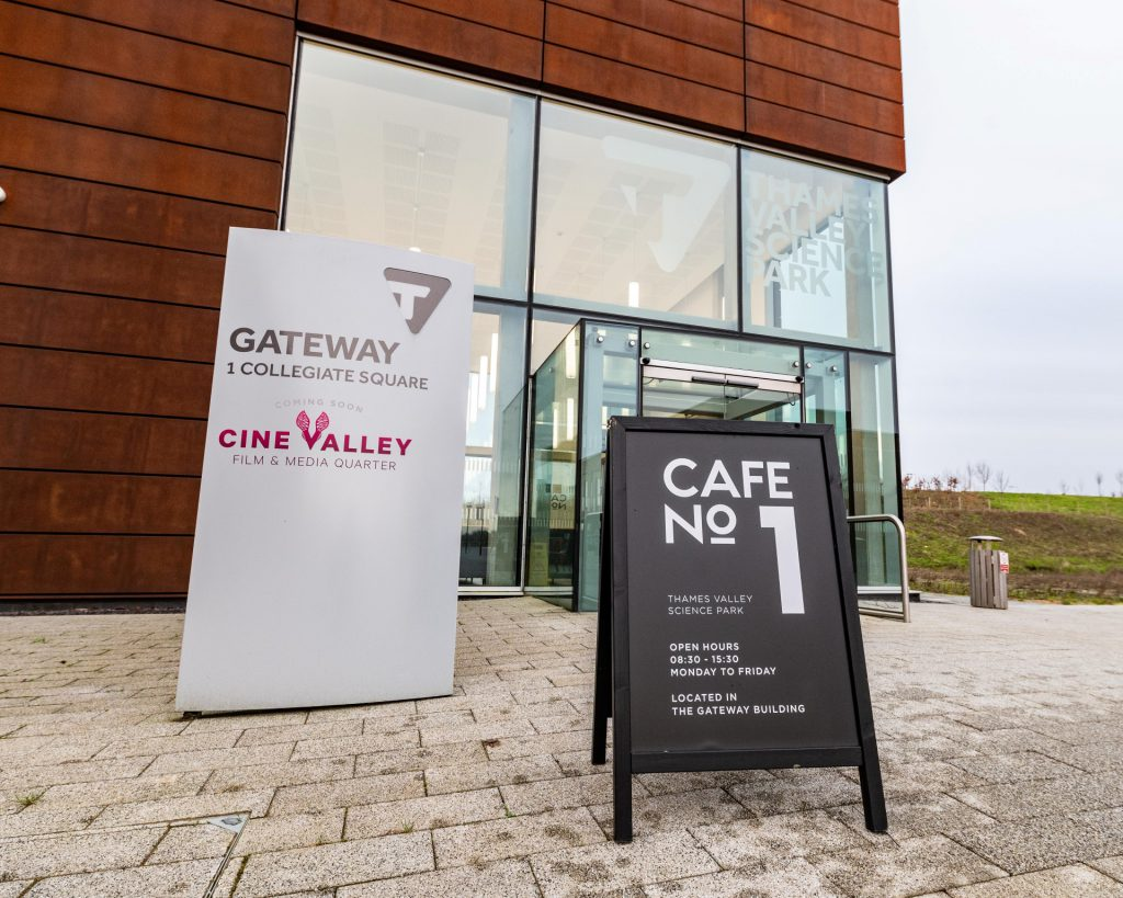 A photo of Cafe No 1 Thames Valley Science Park
