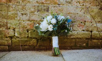 A photo of wedding flowers