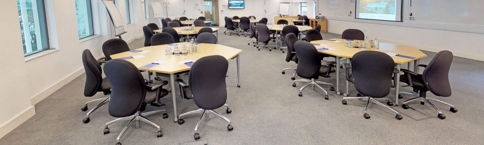 A photo of Henley Greenlands conference room with room setup