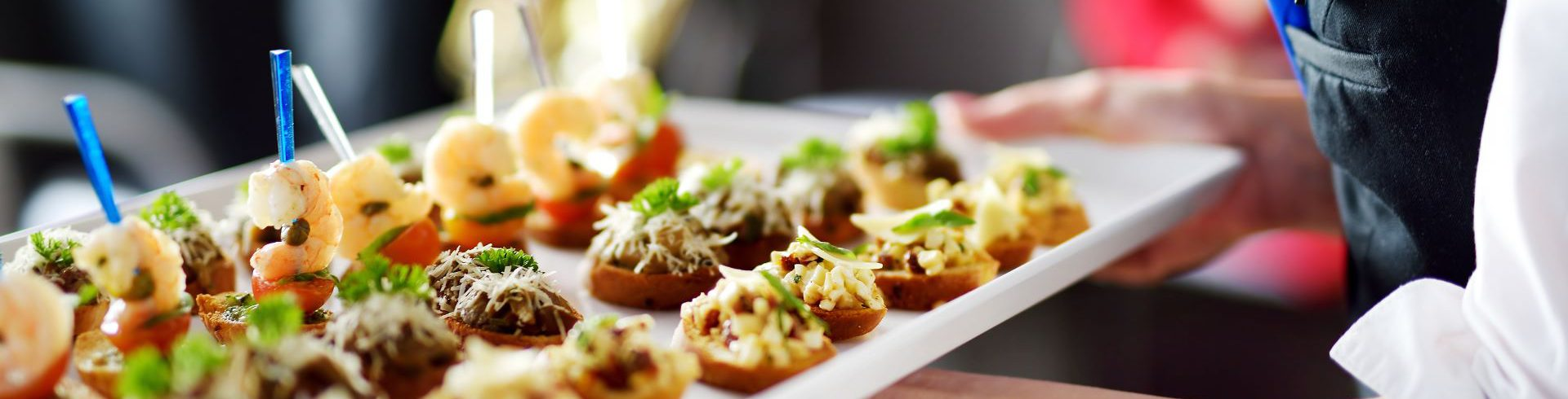 A photo of canape food