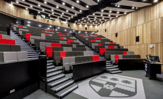 A photo of Palmer lecture theatre seating
