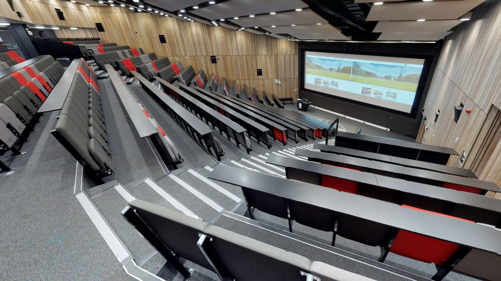 Lecture theatre in Palmer building