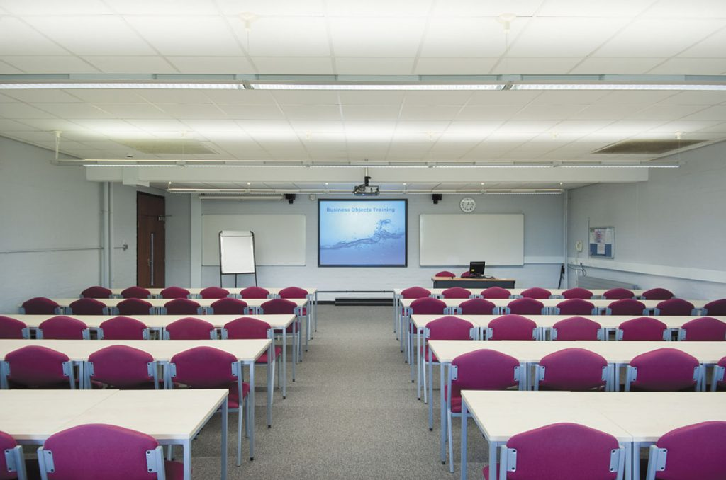 A photo of a meeting room in Palmer building