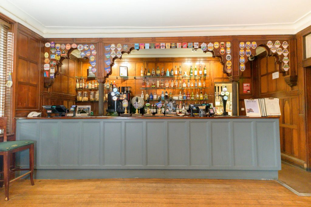 An inside photo of Park House bar