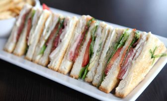 A photo of sandwiches